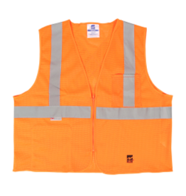 Viking Mesh High Vis Safety Vest w/Zipper