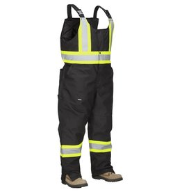 Forcefield Insulated High Vis Winter Safety Overall