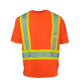 Forcefield High Vis T's - Crew Neck