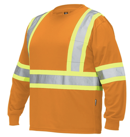Forcefield High Vis Long Sleeve T's - Crew Neck