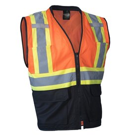 Forcefield Deluxe High Vis Safety Vest