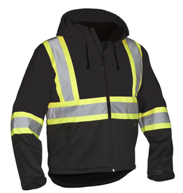 Forcefield High Vis Softshell Jacket