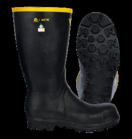 Viking Natural Rubber Boots, CSA Grade 1 Steel Toe/Plate, Black