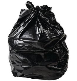 Proven 30x38 Garbage Bags, X-Strong, Black, 125/Case
