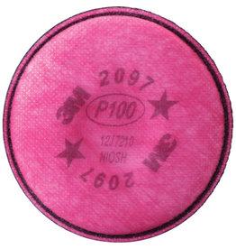 3M Respirator Filter, P100/2097 (2/pk)