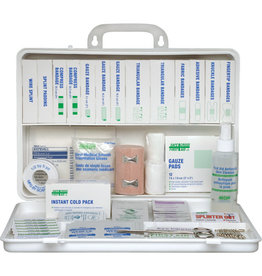 Safecross Ontario Deluxe Regulation First Aid Kit, 6-15 Workers