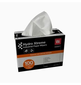 "Wipeco Hydro Xtreme Industrial Wipers, 9"" x 16.5"", 100/Box"