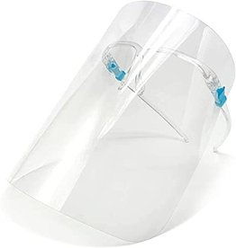 Wipeco Face shield w/Glasses Frame