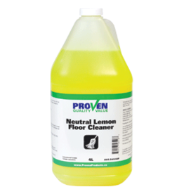 Proven All-Purpose/Floor Lemon Cleaner - 4L Concentrate