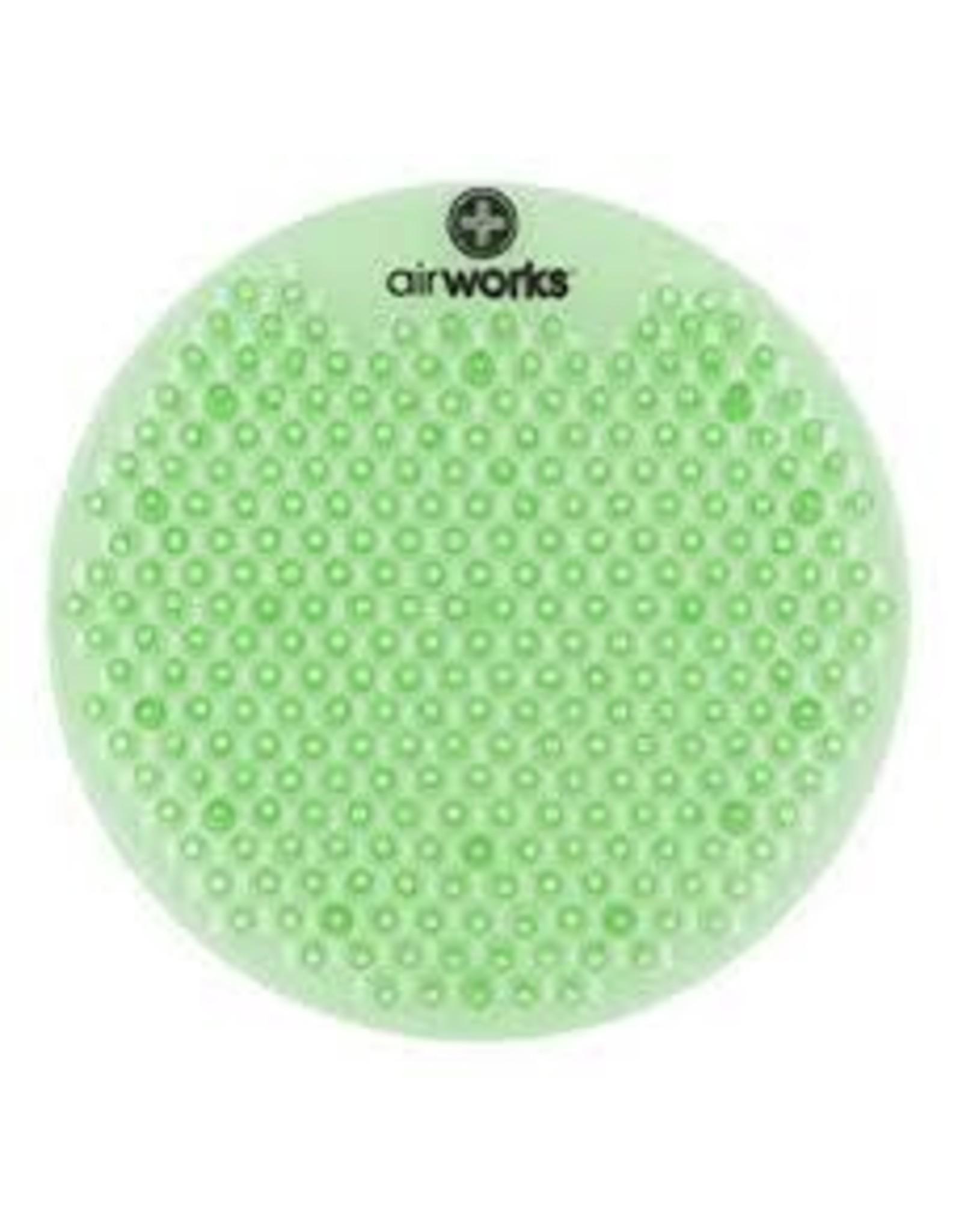 Airworks Cucumber/Melon Urinal Pads, 10/Box