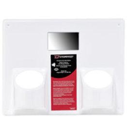 Dynamic Panel for Eye Wash Station, Dual Holder, 12X13