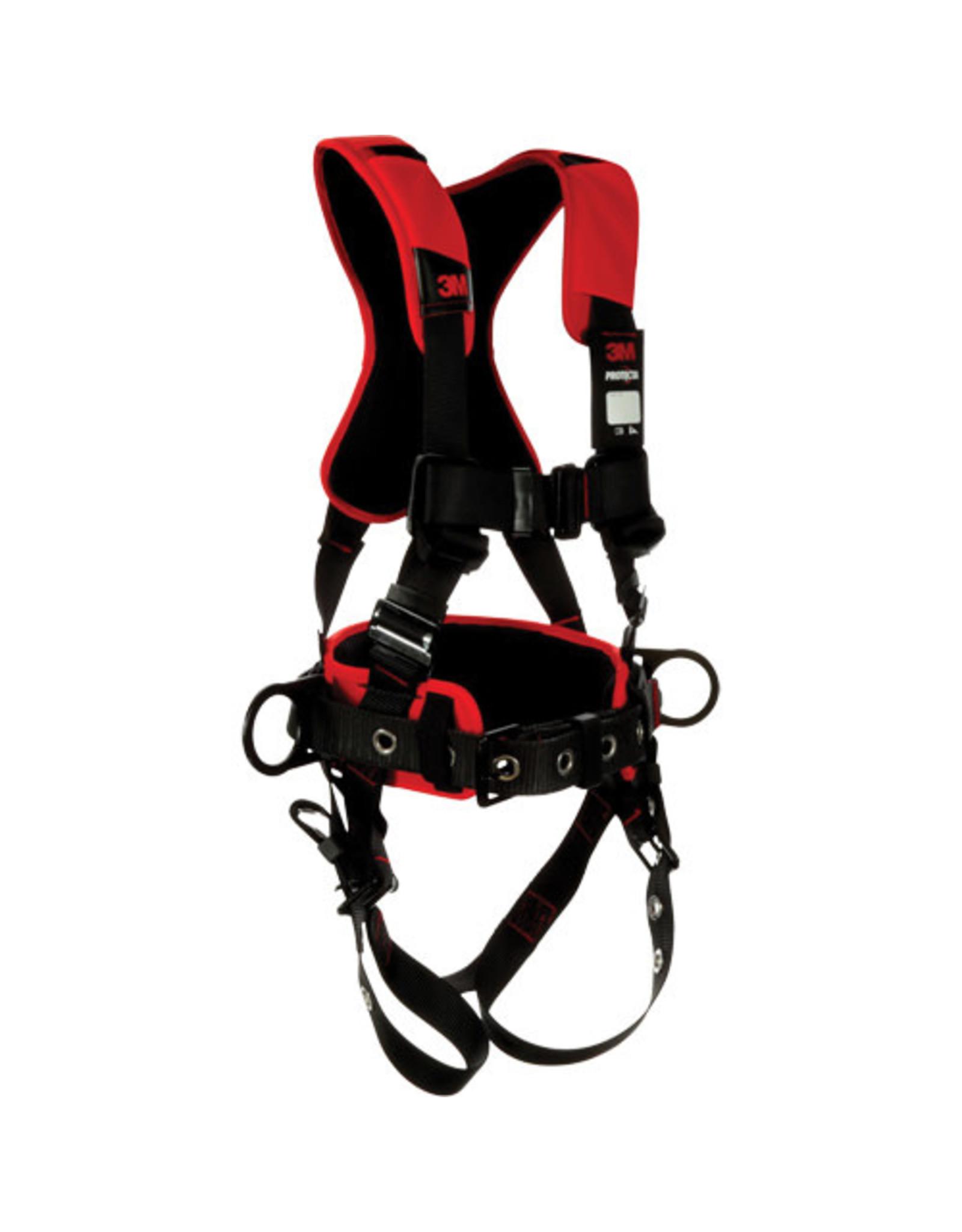 3M 3M Protecta Comfort Harness, Class AP, 420 lb cap, Med/Large Fit