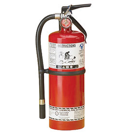 Strike First Steel Dry Chemical ABC Fire Extinguisher -  5 lb