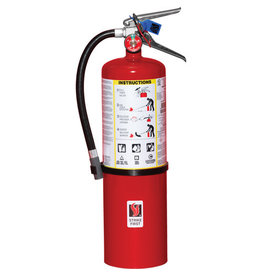 Strike First Steel Dry Chemical ABC Fire Extinguisher, 10 lb.