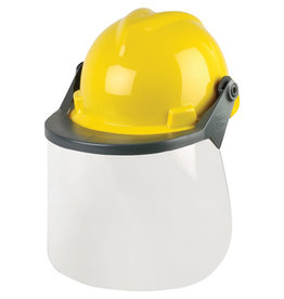 MSA Hard Hat w/Facesheild, Type 1, Yellow