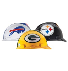 MSA V-Gard Hard Hat - NFL Team, CSA/ANSI Type 1
