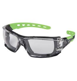 Zenith Z2500 Safety Glasses w/Foam Gasket, Anti-Fog/Clear
