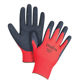 Zenith Natural Rubber Crinkle Coated Glove - 9(L)
