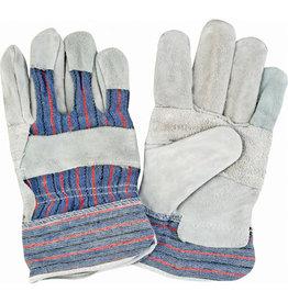 Zenith Split Cowhide Patch Palm Fitters Gloves - L