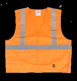 Viking Solid Safety Vest, Velcro