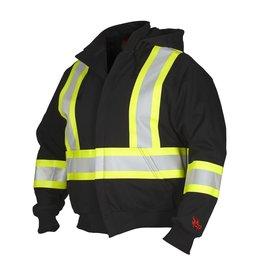 Forcefield FR Hoodie w/Detachable Hood, Class 1, Black