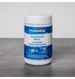 Fusion Alcohol Sanitizing Wipes, 75% w/NPN, 100/Tub