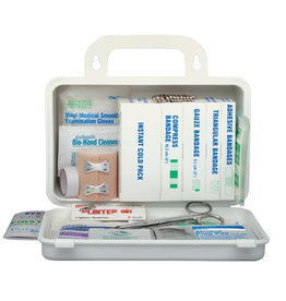 Safecross Ontario Regulation Deluxe First Aid Kit/Plastic, 1-5 ppl