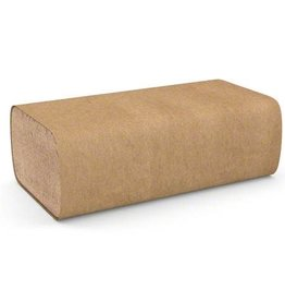 Cascade Singlefold Paper Towel, Natural, 16 x 250/Case