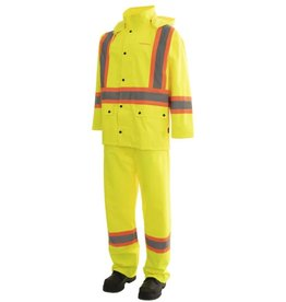 Forcefield Forcefield 2 Pc Rain Jacket/Pant Combo, High Vis CSA