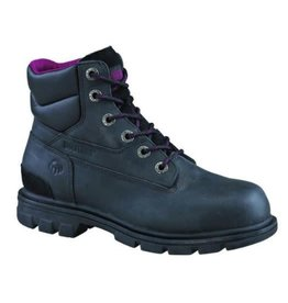 "Wolverine 6"" Belle CSA Work Boot, Black"