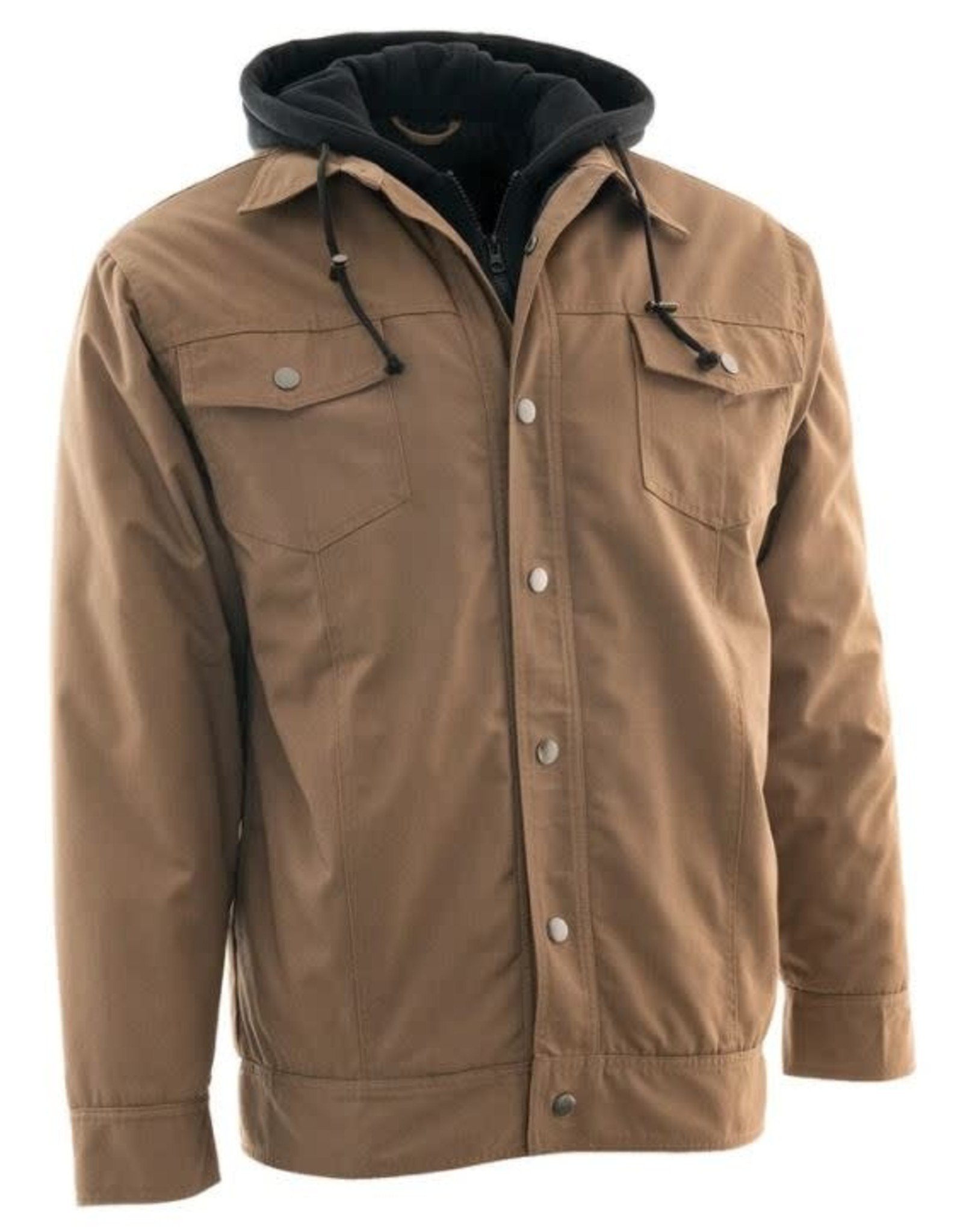 Forcefield Cotton/Canvas Work Jacket w/Hoodie