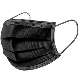 SVR Med Level 3 black masks, 50pk