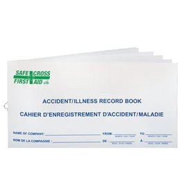 Accident Record Book - 50 Entries