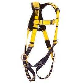3M DBI SALA Delta Harness, Class AP, Universal, 420 lb cap, Tongue/Buckle Chest/Leg