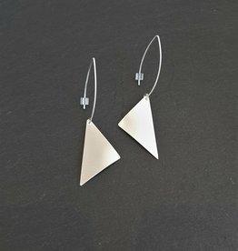 Sterling Earrings (Large Sails)