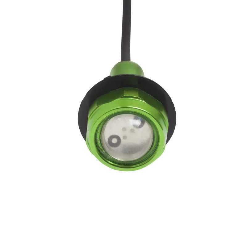 Yak-Power Button Lights Green