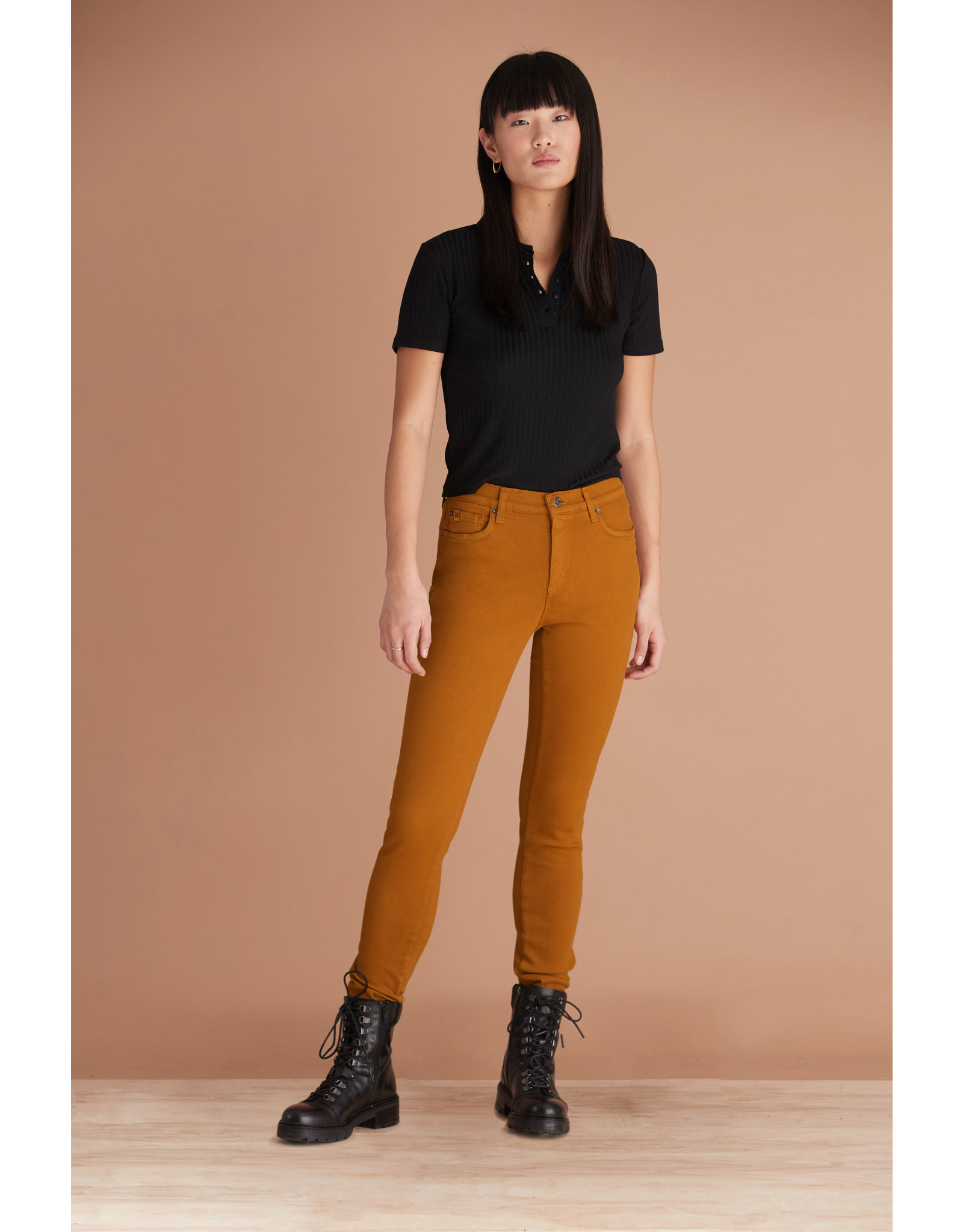 Yoga Jeans 1711 CO Rachel Fire/Moutarde