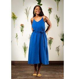 Maillagogo Robe Longue Bleu