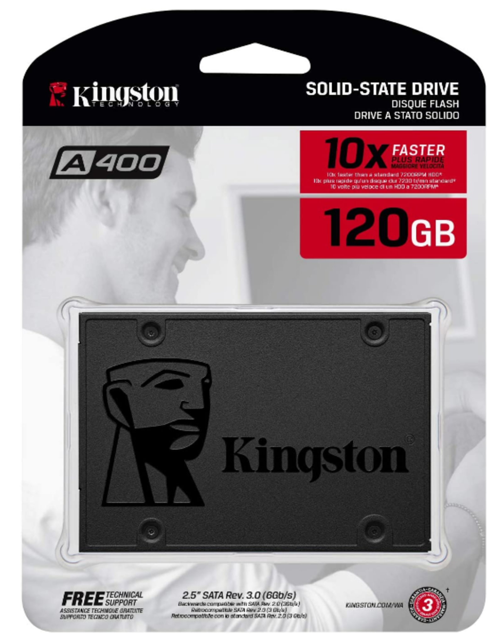Kingston Kingston A400 120GB Solid State Drive