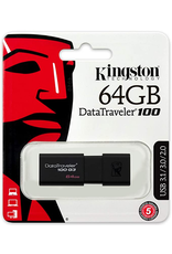 Kingston Kingston DT100G3/64GB 64GB USB 3.0 DataTraveler