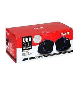 Havit Havit HV-SK473 2.0 Speakers USB Red+Black