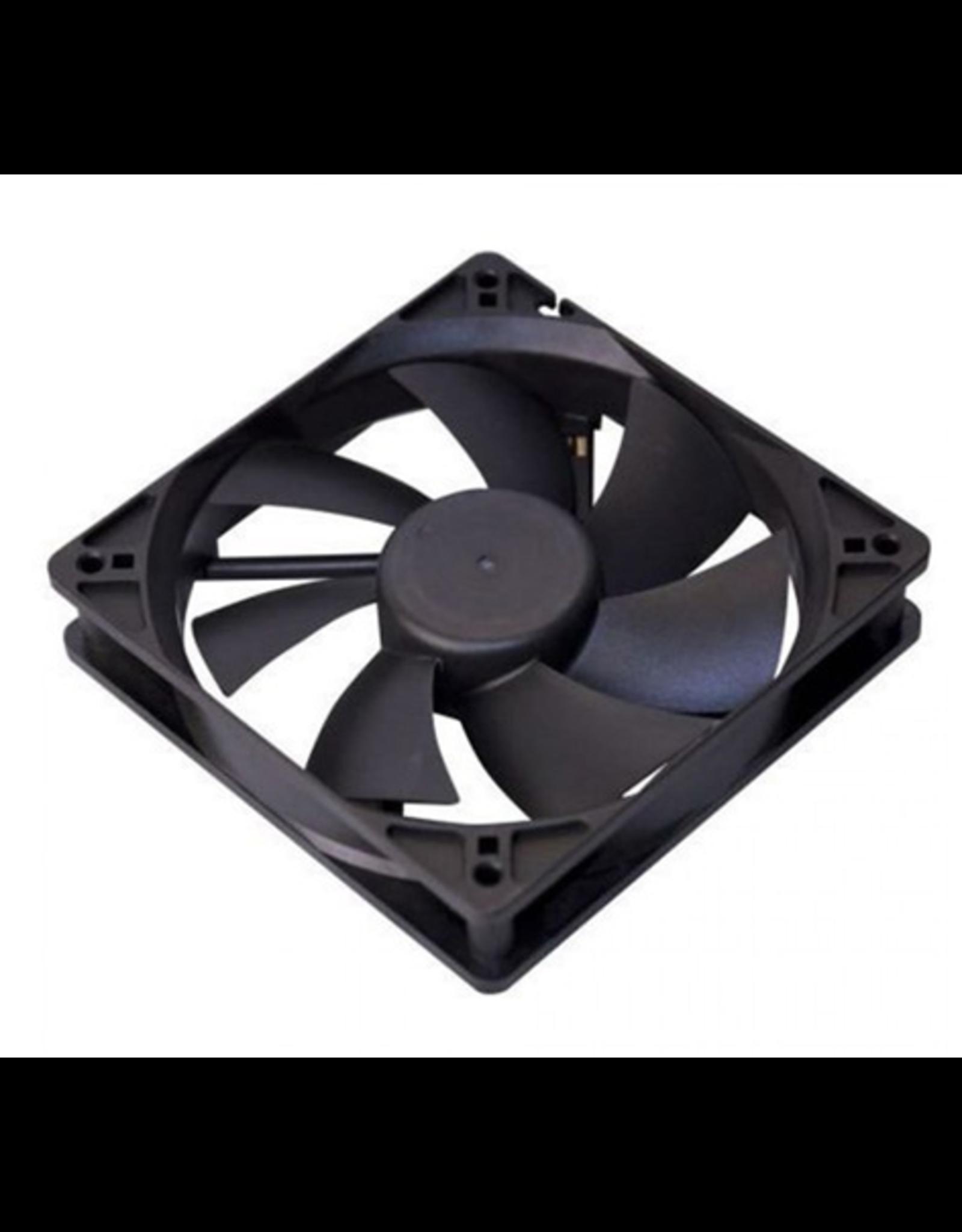 Case Fan, 12CM, Black, 4Pin