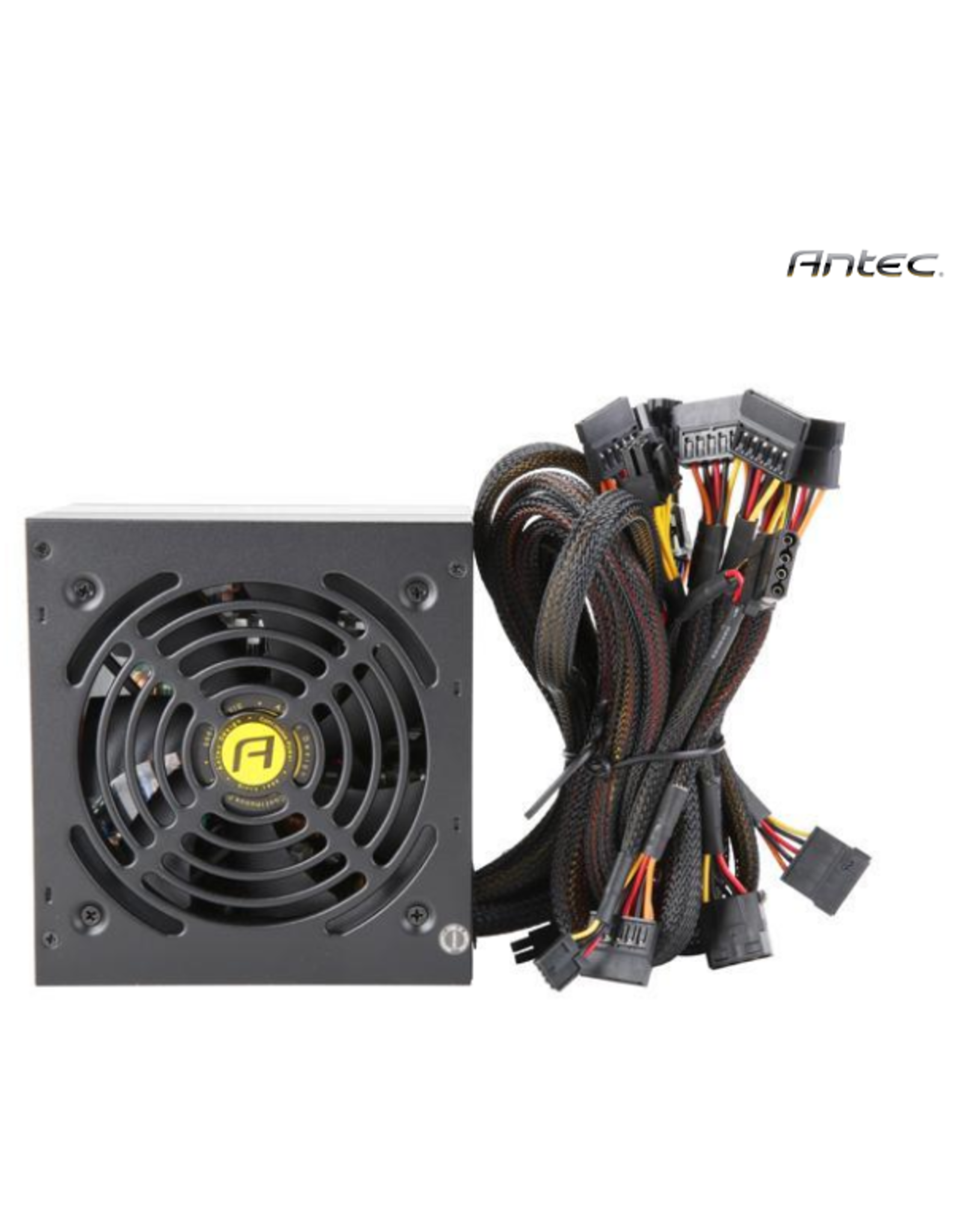 Antec Value Power Series VP500 Plus, 500W Non-Modular, 80 PLUS Certified, Thermal Manager, CircuitShield Protection, 120 mm Silent Fan with 3-Year Warranty
