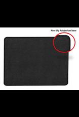 Moustache Mouse Pad Non-Slip Anti-Fray Cloth Surface, Black
