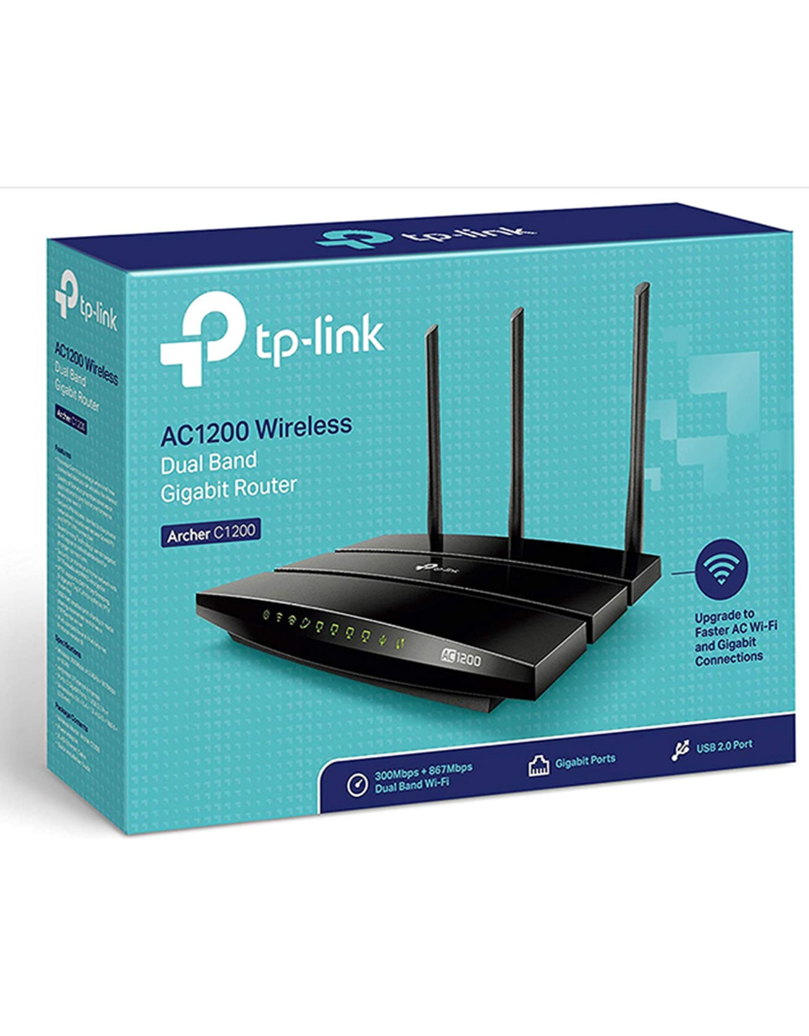 TP-Link TP-Link AC1200 Wireless Dual Band Gigabit Router