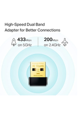 TP-Link TP-Link AC600 Nano Wireless USB Adapter