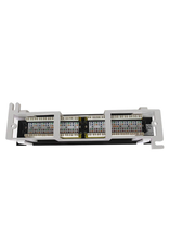 12 Port CAT6 Patch Panel, Self Mount Patch Panel 110 Punch Down