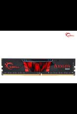 G.SKILL G.Skill Aegis 8GB 288-Pin DDR4 SDRAM DDR4 2666 Desktop Memory Model F4-2666C19S-8GIS