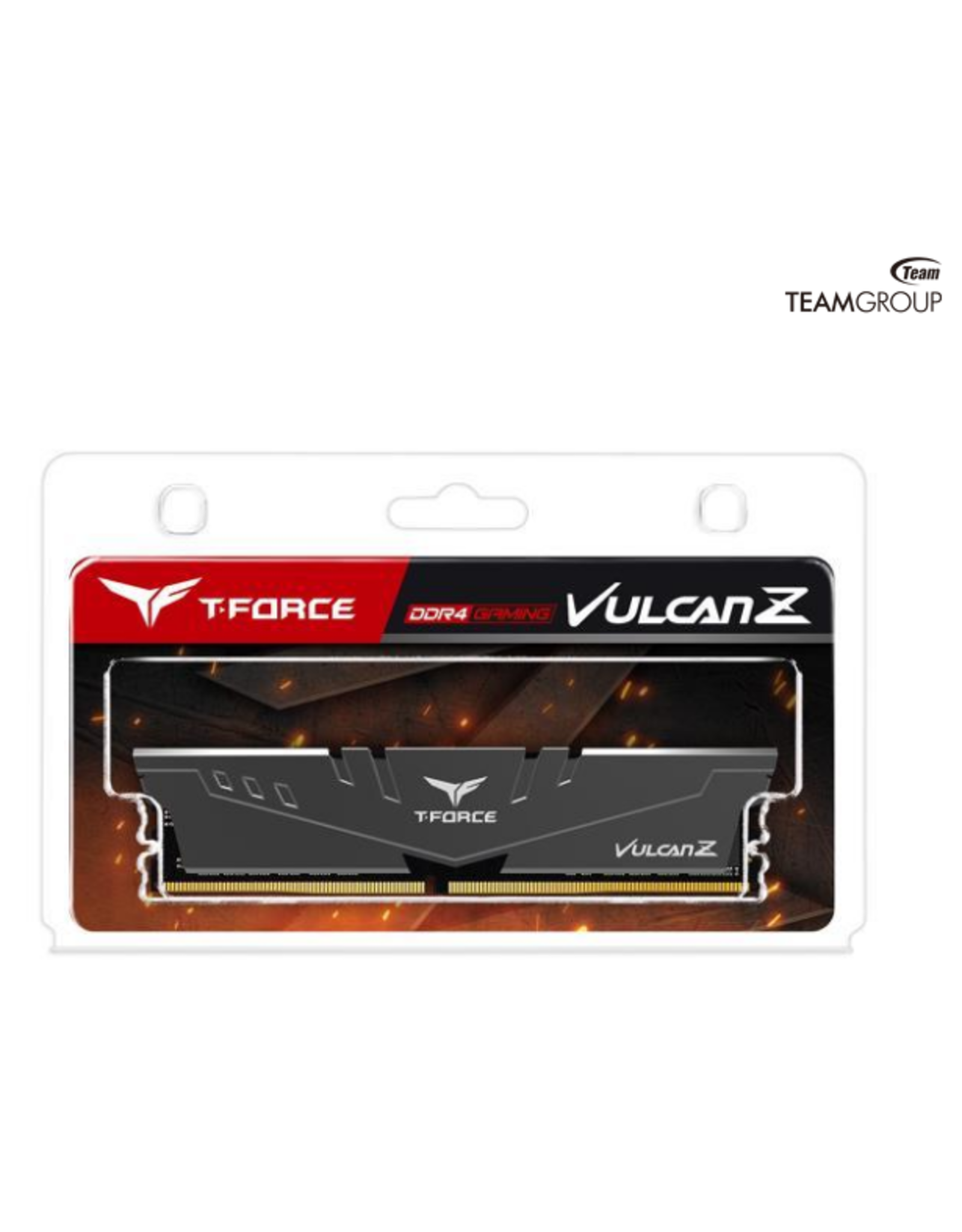 Team T-FORCE VULCAN Z 8GB 288-Pin DDR4 SDRAM DDR4 3200 (PC4 25600) Intel XMP 2.0 Desktop Memory Model TLZGD48G3200HC16C01