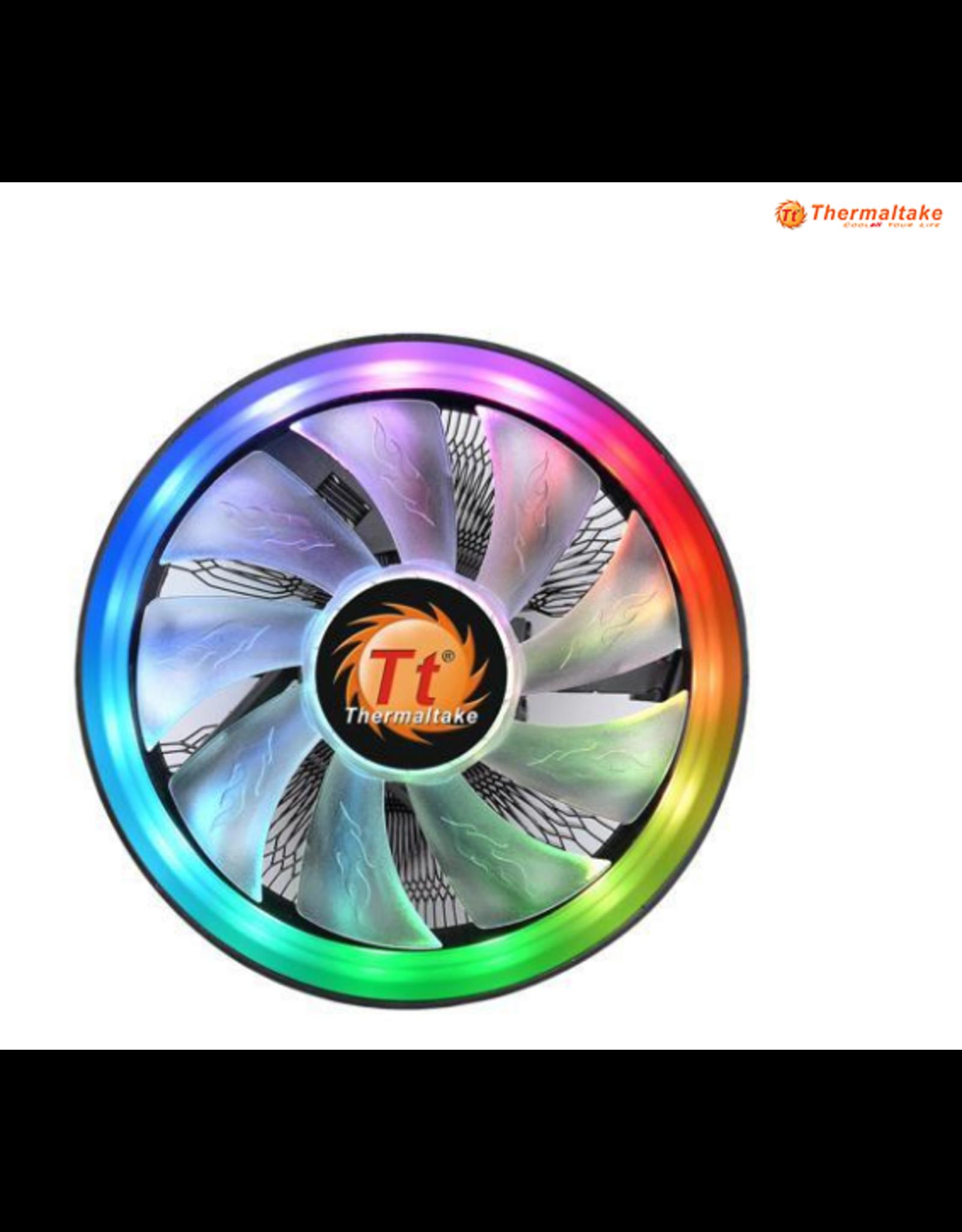 Thermaltake Thermaltake UX100 5V Motherboard Sync High Airflow Hydraulic Bearing ARGB Lighting CPU Cooler